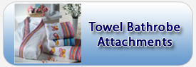 Towel Bathrobe Attachments